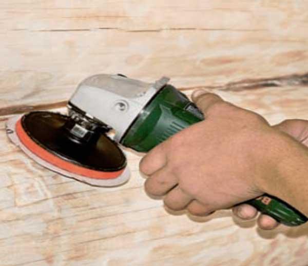 Можно ли болгаркой шлифовать дерево: видео-инструкция по шлифовке деревянного пола своими руками, фото и цена