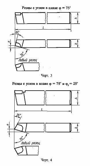 Гост 18874-73 резцы токарные прорезные и отрезные из быстрорежущей стали. конструкция и размеры