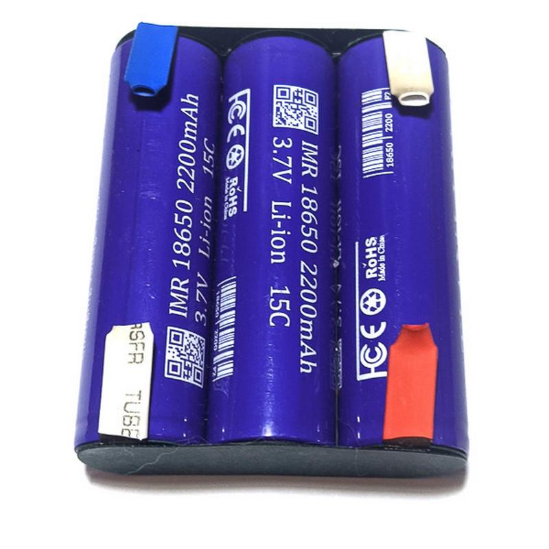 Ремонт шуруповерта путем замены аккумулятора литий-ионным