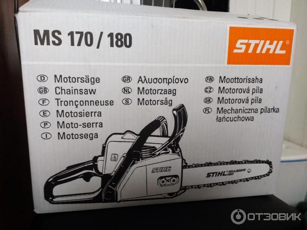 Бензопила «stihl» ms 260-16: особенности и технические характеристики