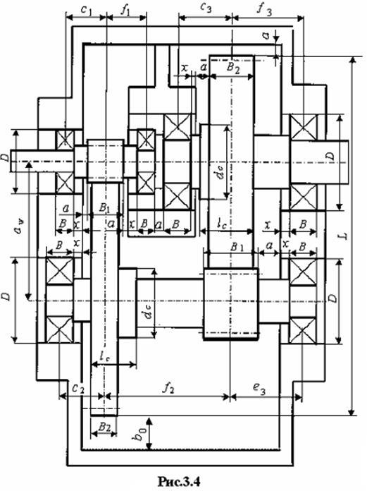 Проектирование одноступенчатого цилиндрического редуктора