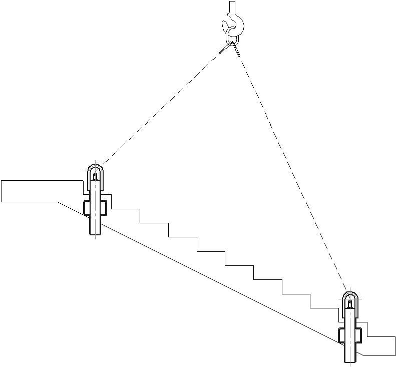 Купить захваты для лестничных маршей - по выгодной цене l компания аргос