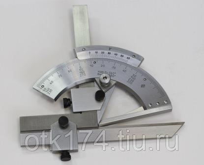Механический угломер инструментальный с нониусом: разбираем по пунктам