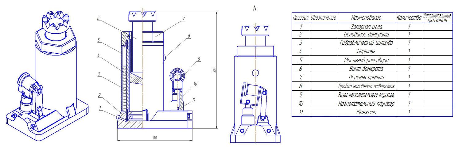 Ремонт домкрата, как прокачать гидравлический домкрат