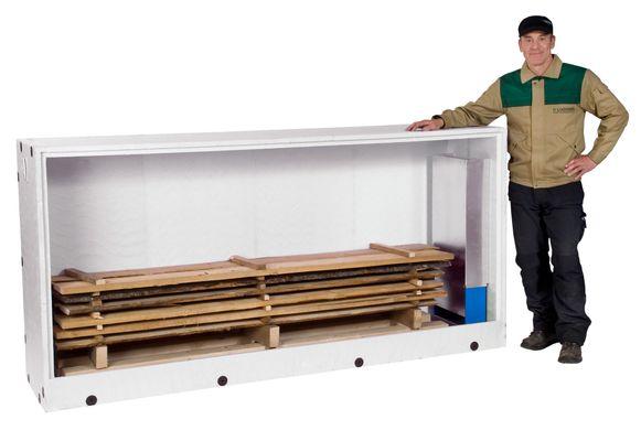 Сушильная камера для древесины: принцип работы, схемы и виды