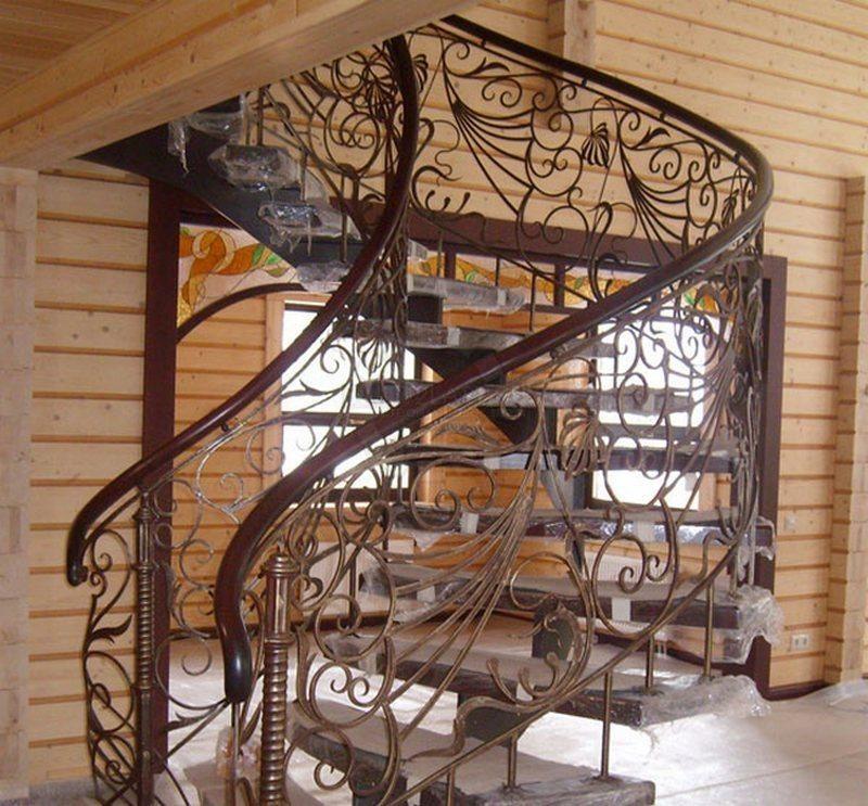 Винтовая лестница (50 фото): эффектные интерьерные решения - happymodern.ru