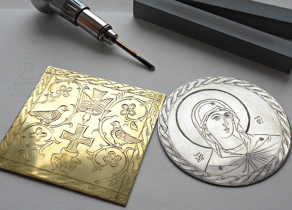 Как сделать гравировку по металлу своими руками?