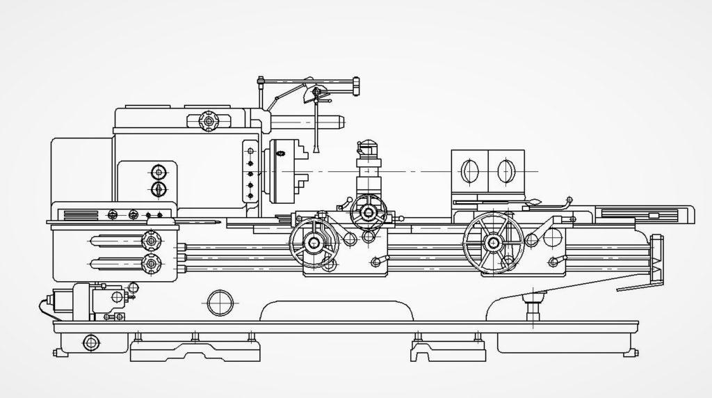 16к20 – надежное токарное оборудование завода «красный пролетарий»