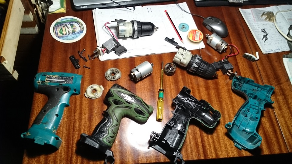 Ремонт аккумулятора бытового шуруповерта своими руками