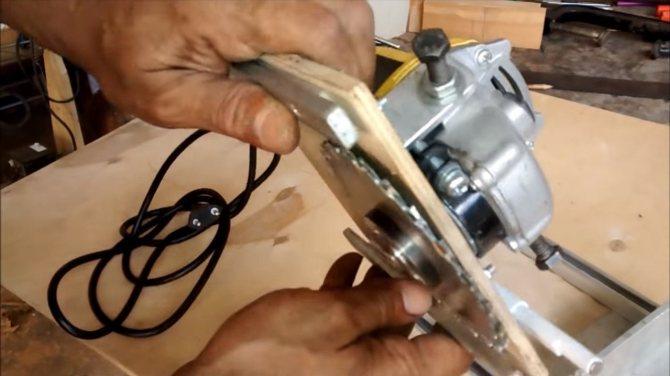 Отрезной станок из болгарки: чертежи, пошаговая инструкция изготовления, фото