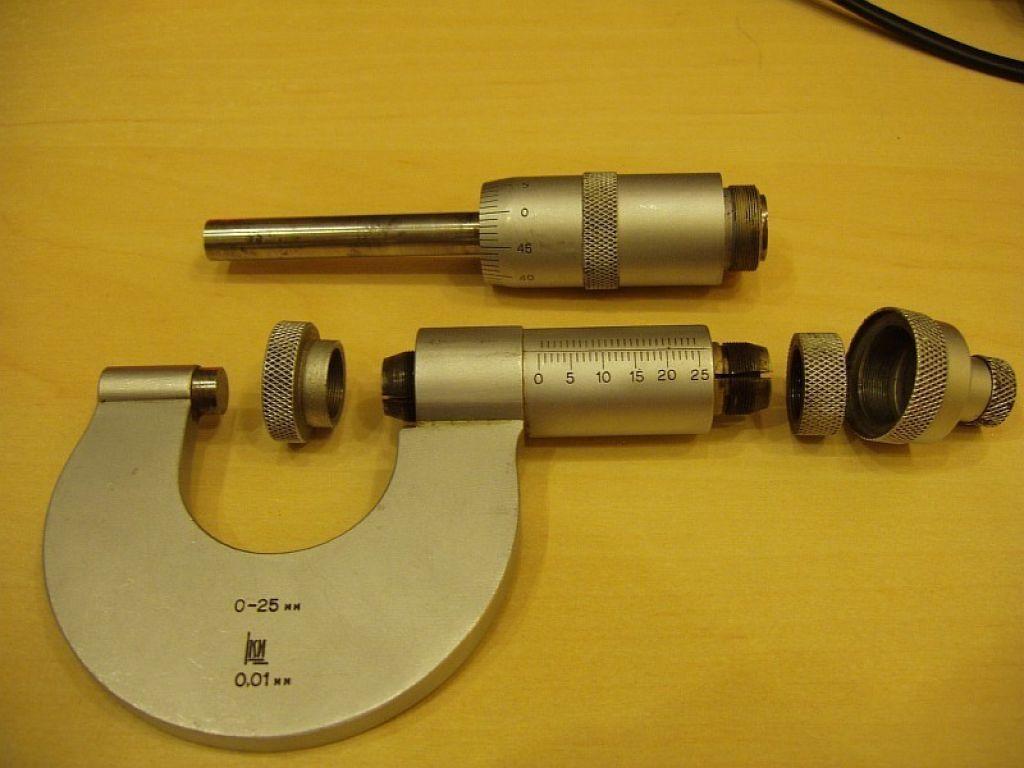 Как пользоваться микрометром: настройка шкалы на ноль