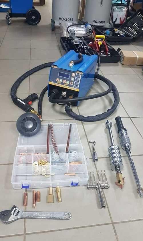 Cпоттер для кузовного ремонта: что это такое и как он работает
