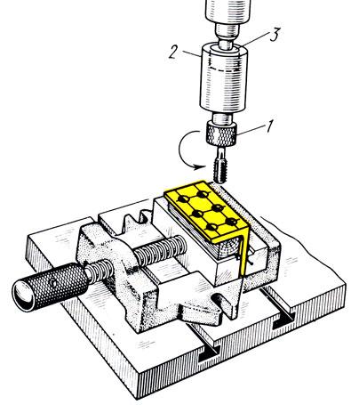 Нарезание резьбы. инструменты, способы нарезания резьбы