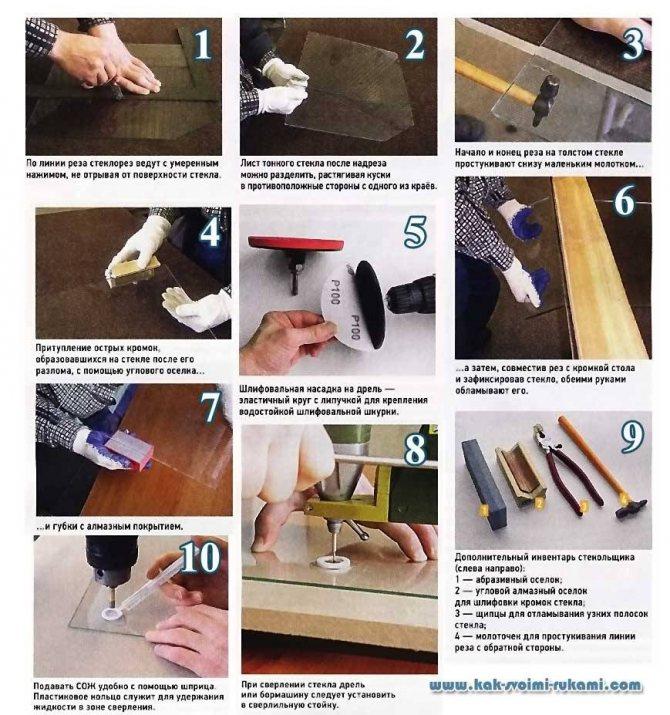 Как отрезать стеклянную трубку в домашних условиях • auramm.ru
