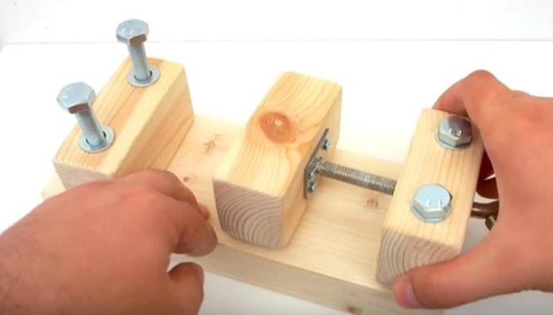 Как сделать тиски своими руками для столярных и слесарных работ – ремонт своими руками на m-stone.ru