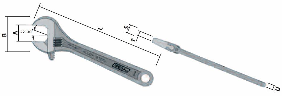 Ключ газовый: размеры по номерам, описание