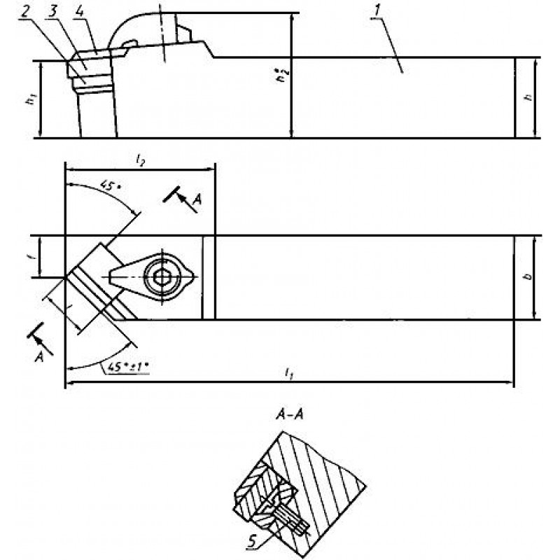 Фасонный токарный резец — виды, гост, маркировка, чертежи