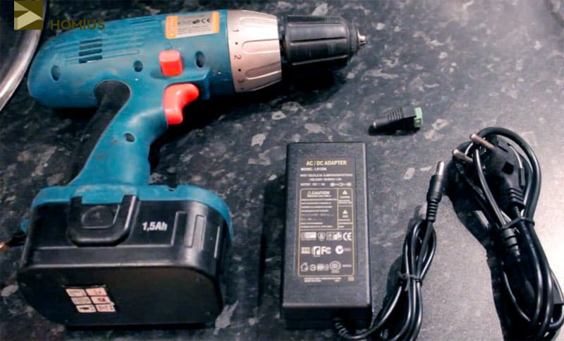 Блок питания для шуруповерта своими руками: переделка аккумуляторного шуруповерта на питание от сети 220 в и от компьютера