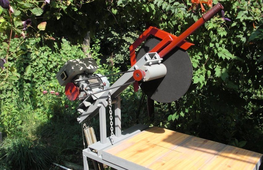Отрезной станок по металлу своими руками: технология изготовления – советы по ремонту