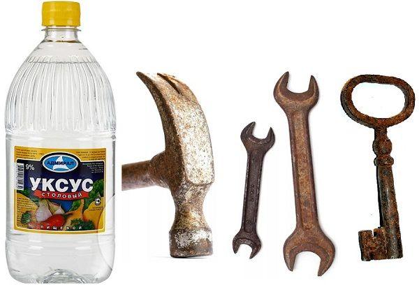 Как удалить ржавчину с металла – обзор средств и методов