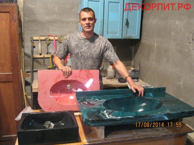 Изготовление искусственного мрамора из полированного гипса своими руками
