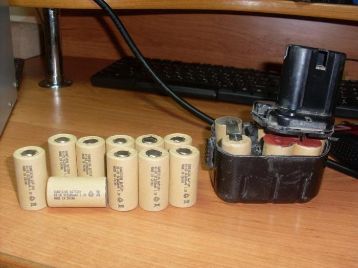 Восстановление аккумуляторной батареи для шуруповёрта