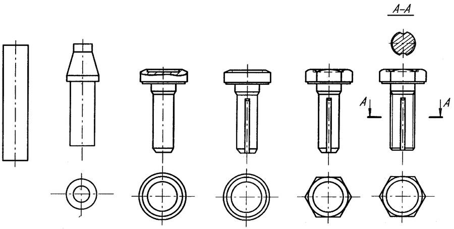 Как делают болты: штамповка и ковка