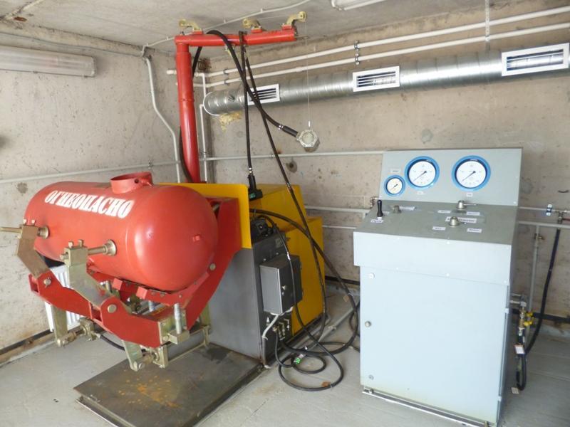 Промышленная безопасность - правила работы с газовыми баллонами