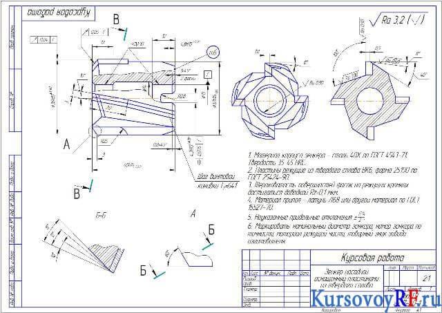 Цековка: описание инструмента
