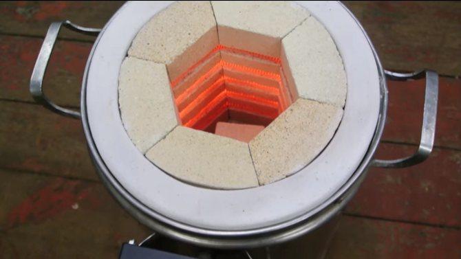 1300 градусов – и это не предел. изготовление удивительной муфельной печи своими руками