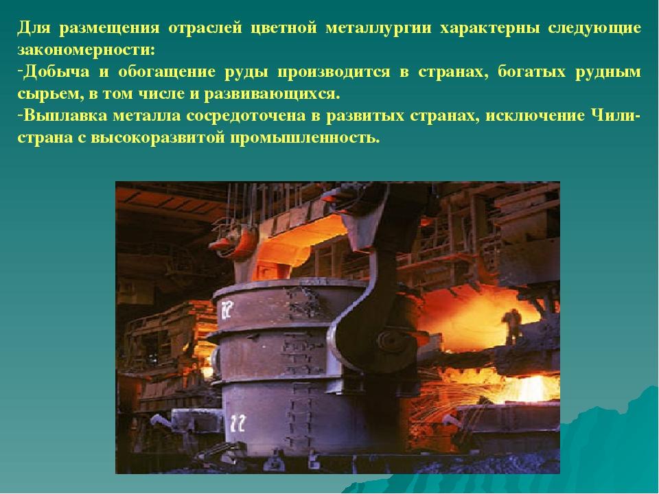 Цветная металлургия