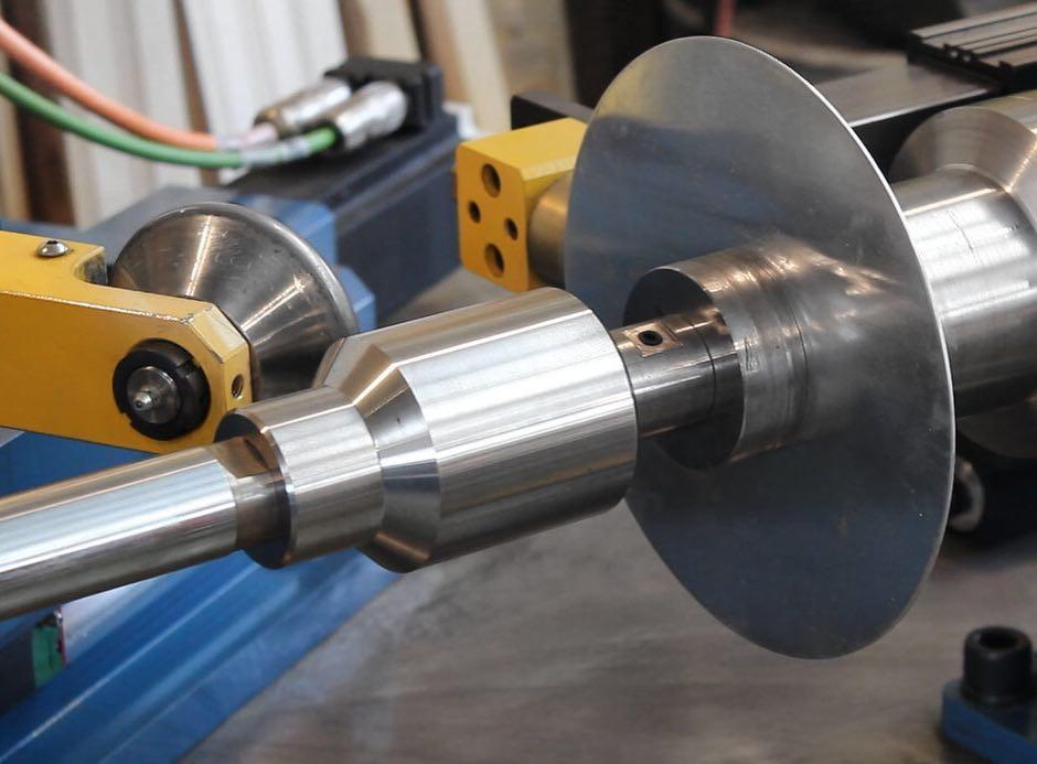 Ротационная вытяжка металла