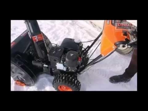 Снегоуборщики patriot – общий обзор всех серий линейки