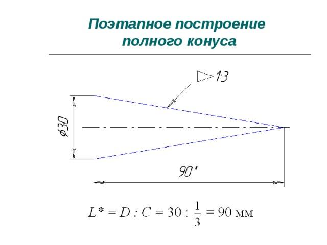 Что это — конус? определение, свойства, формулы и пример решения задачи