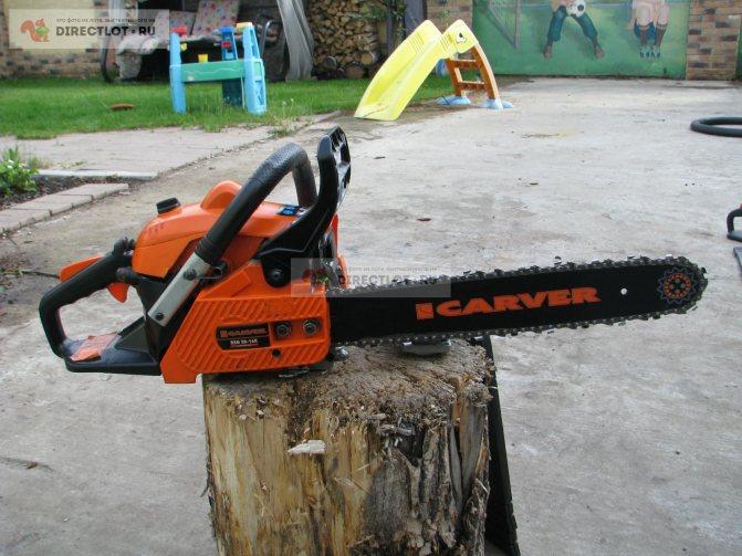 Бензопилы carver (карвер), модели — технические характеристики
