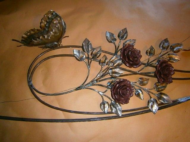 Творческий проект по технологии «роза из металла»