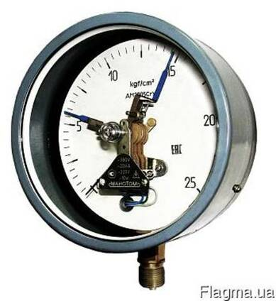 Как подключить электроконтактный манометр к компрессору