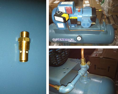 Как сделать обратный клапан для компрессора