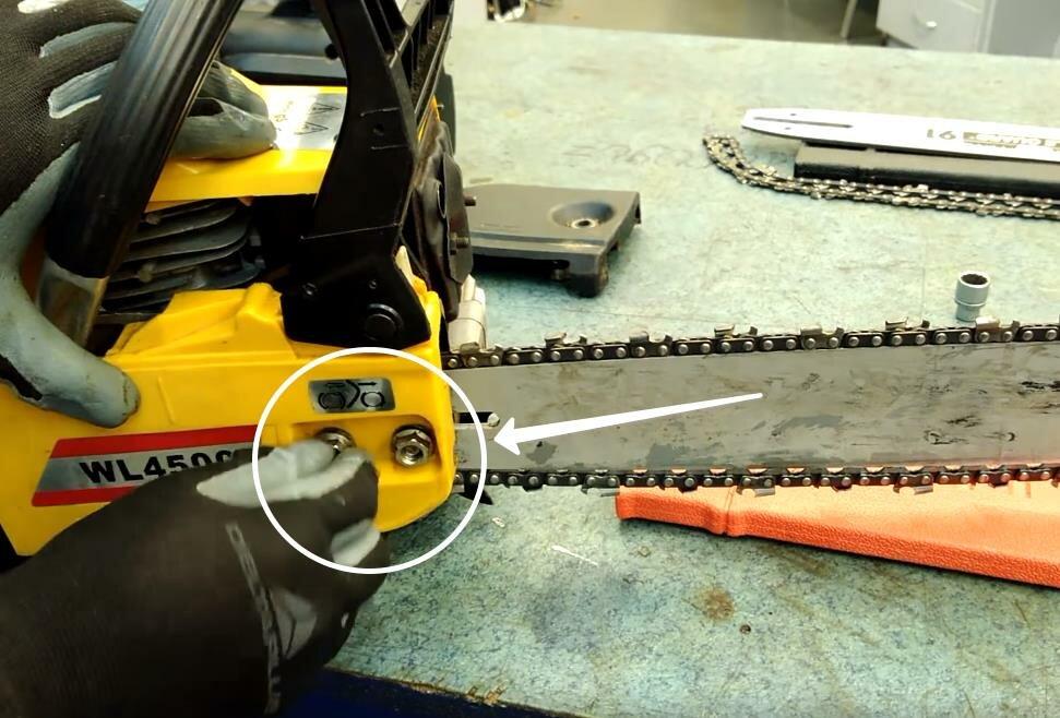 Как правильно натянуть цепь на бензопиле – мои инструменты