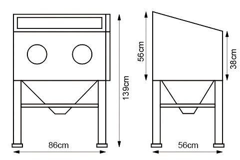 Как самому сделать пескоструйный аппарат: чертежи и советы