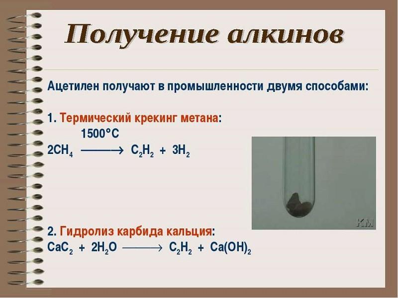 Ацетилен: химические свойства, получение, применение, меры предосторожности :: syl.ru