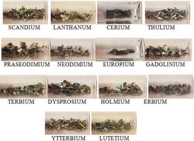 Редкоземельные металлы и их добыча