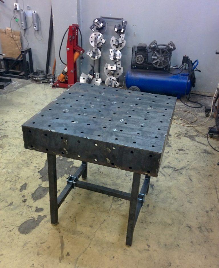 Советы по изготовлению сварочного стола своими руками, порядок работы