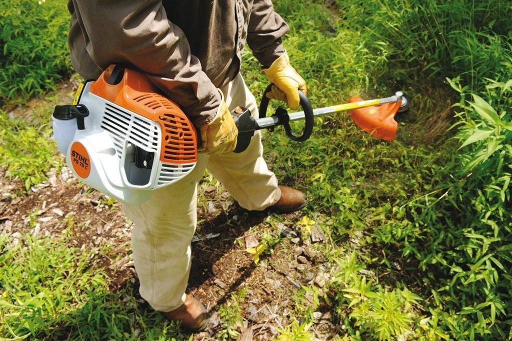 Правильная эксплуатация триммера для травы -