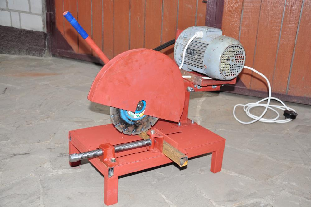 Технология изготовления отрезного станка по металлу своими руками