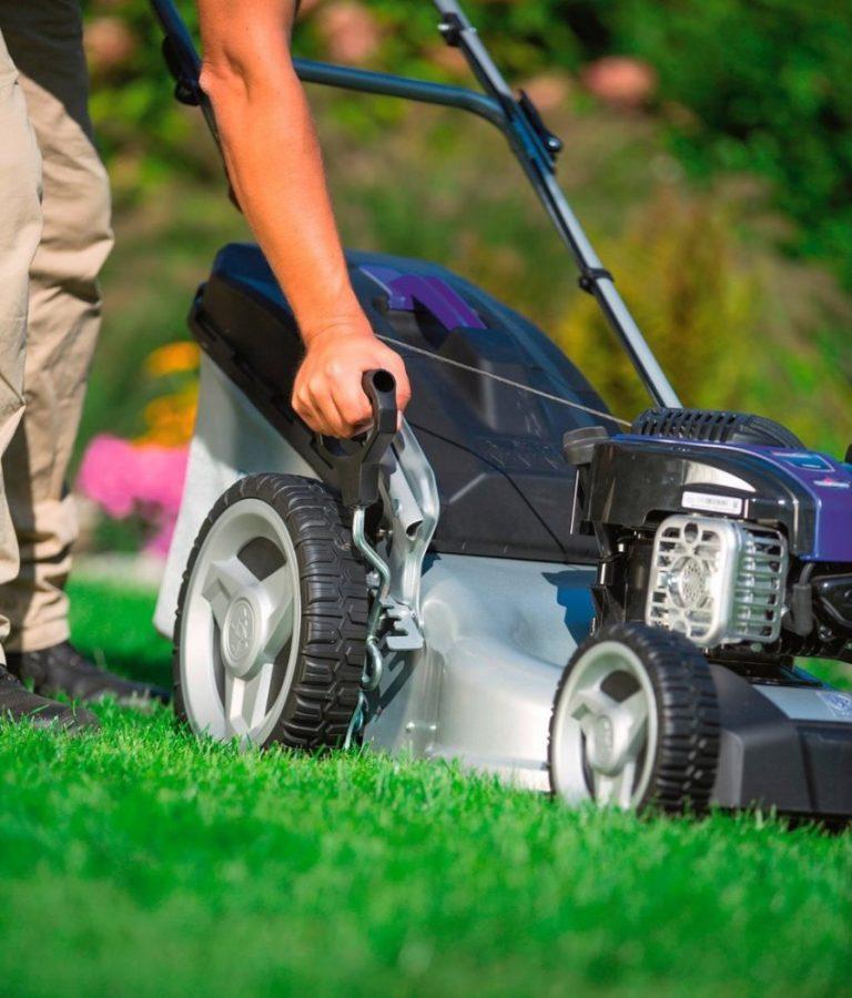 Лучшие газонокосилки для высокой травы и неровных участков