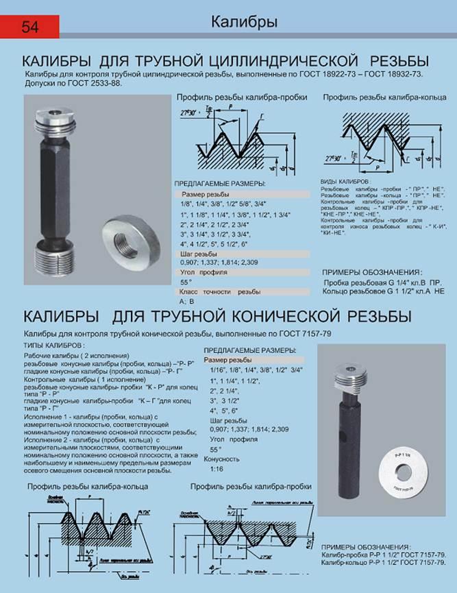 Контроль - метрическая резьба  - большая энциклопедия нефти и газа, статья, страница 1