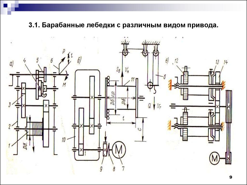 Электрическая схема лебедки 220в