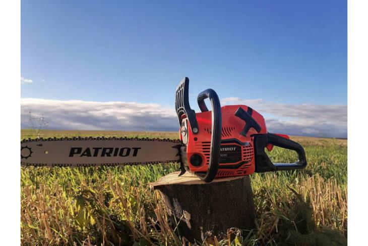 Бензопилы патриот (patriot), модели — характеристики, преимущества