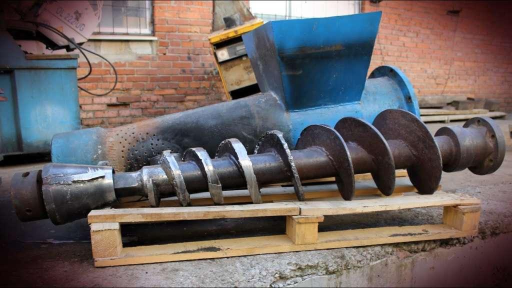 Изготовление шнеков: технология и оборудование